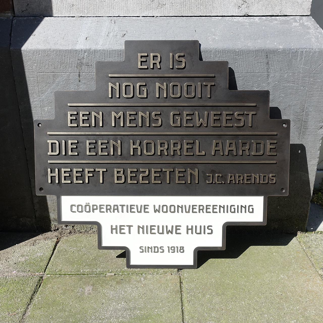 Herdenkingsplaat, Janno Hahn